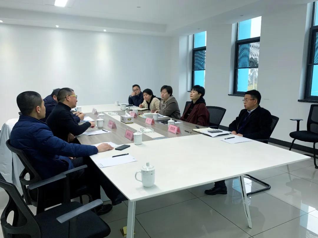 成都市新津区领导莅临达威智能化工厂指导工作